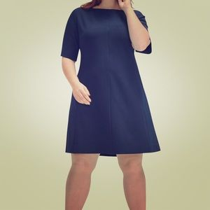 Emily Dress Deep Indigo size 16